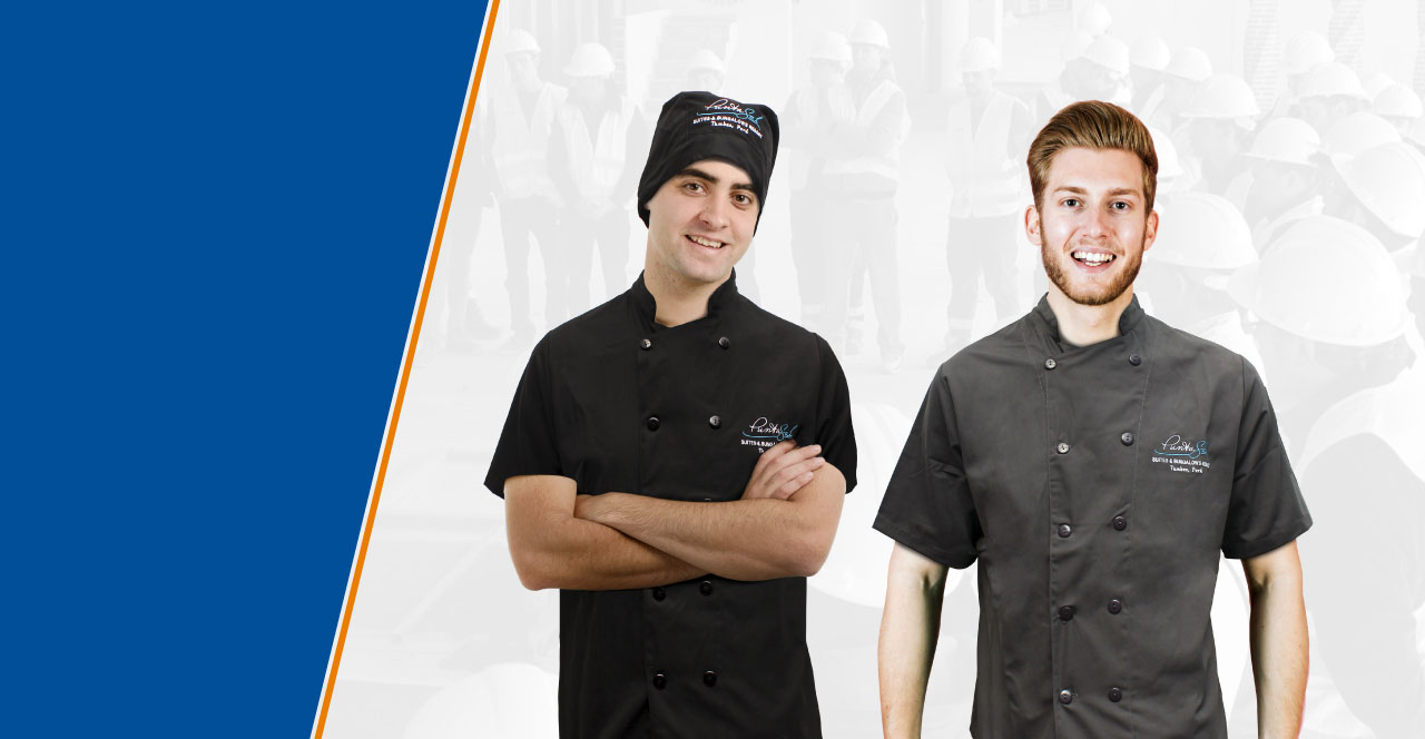 uniformes de cocina